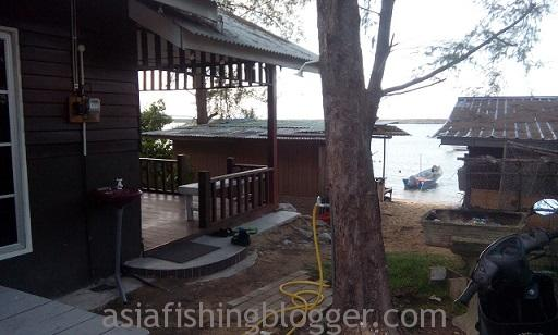 best fishing adventure chalet front view